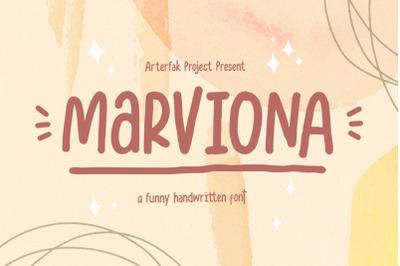 Marviona - Sweet Handwritten