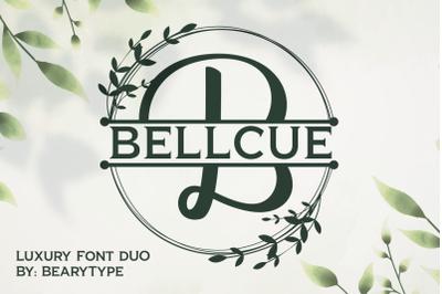 Bellcue - Fonts duo