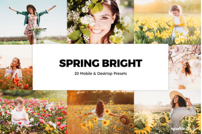 20  Spring Bright LR Presets