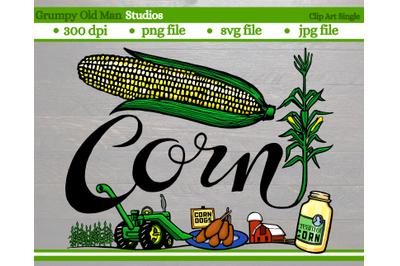 Corn | Vegetables | Garden Labels