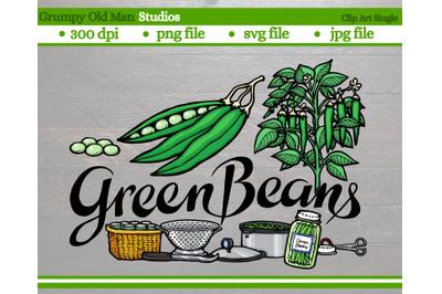 Green beans | Vegetables | Garden Labels