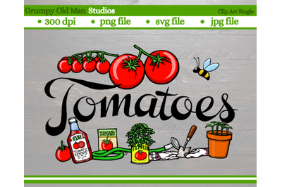 Tomatoes | Vegetables | Garden Labels