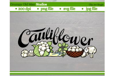 Cauliflower | Vegetables | Garden Labels
