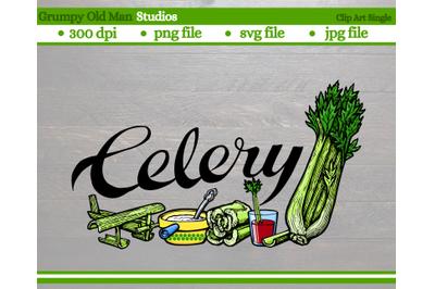 Celery | Vegetables | Garden Labels