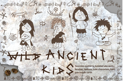 """""""Ancient Kids"""" Graphic Pack"""