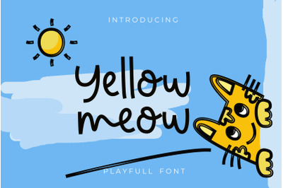 Yellow meow