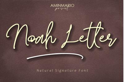 Noah Letter