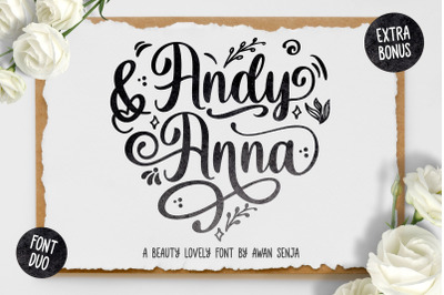 Andy & Anna - Beauty Font