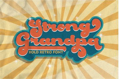 Strong Grandpa - Bold Retro Font