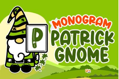 Monogram Patrick Gnome