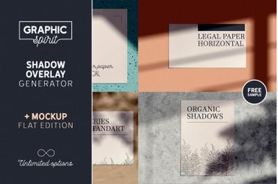 Shadow Overlay GENERATOR + Mockup