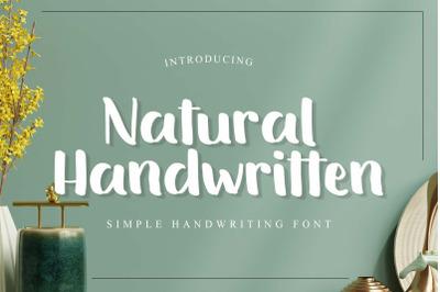 Natural Handwritten