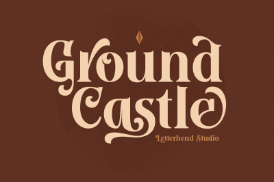 Ground Castle - High Contrast Serif