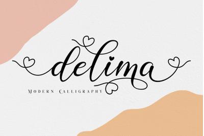 Delima Modern Calligraphy