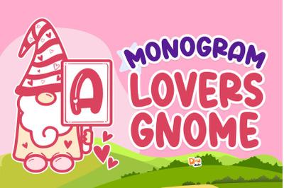 Monogram Lovers Gnome