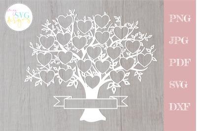 Family tree svg 21 members, svg family tree, family reunion svg