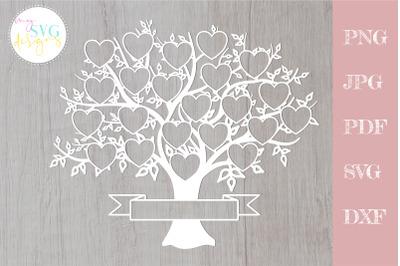 Family tree svg 22 members, svg family tree, family reunion svg