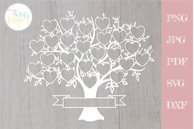 Family tree svg 25 members, svg family tree, family reunion svg