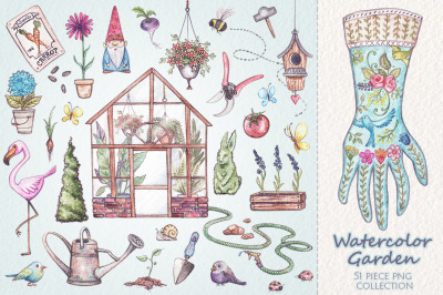 Watercolor Garden Collection