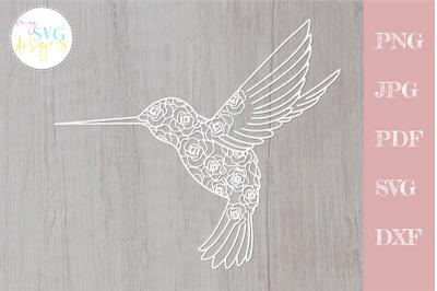 Hummingbird svg, svg hummingbird, floral colibri svg
