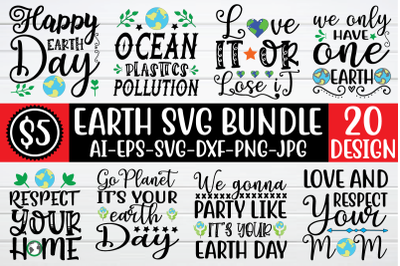 Earth svg bundle