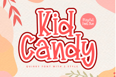 Kid Candy Font Duo