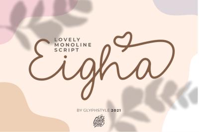 Eigha Lovely Script