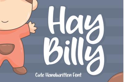 Hay Billy