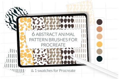 Animal print Procreate, abstract animal fabric, leopard pattern