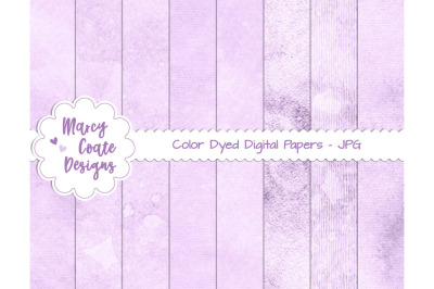 Lavender Dyed Journal Papers US Letter Size
