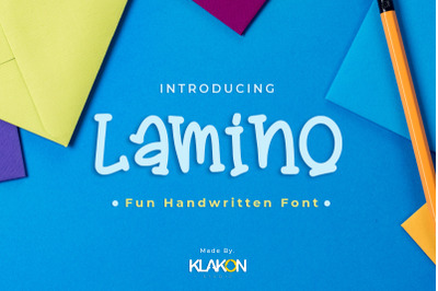 Lamino - Font Design