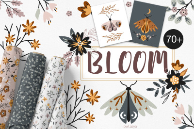 BLOOM. Flowers collection