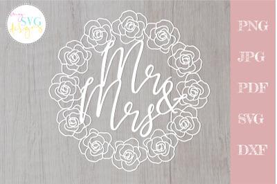 Mr and mrs svg, Wedding svg, Mr & Mrs svg