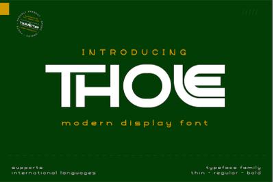 Thole