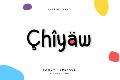 Chiyaw Handwritten Monotype