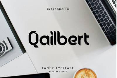Qailbert Elegant Typeface