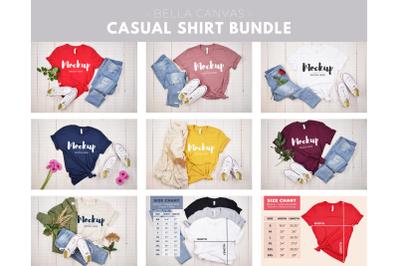 Casual Shirt Mockup Bundle