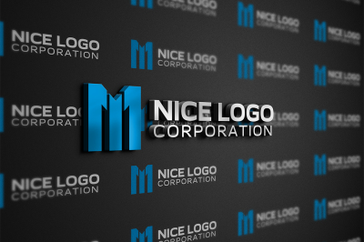 m 1 logo