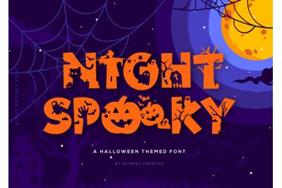 Night Spooky Font