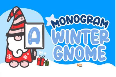 Monogram Winter Gnome
