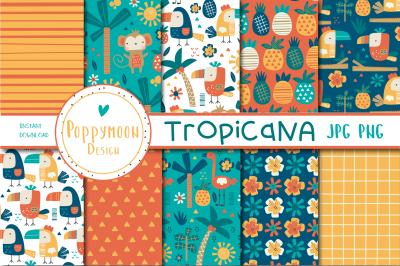 Tropican paper set