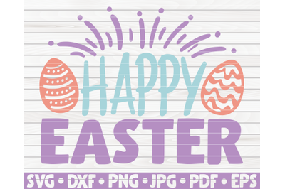 Happy Easter SVG | Easter quote