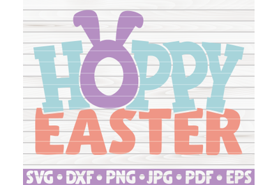 Hoppy Easter SVG | Easter quote