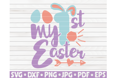 My first Easter SVG   Easter quote