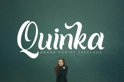 Quinka - A Casual Script Font