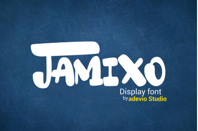 Jamixo Display font