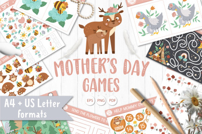 Mother's Day Games for kids