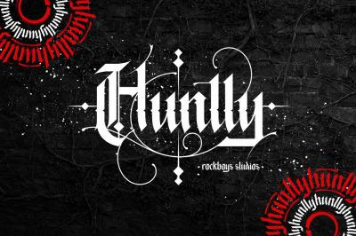 Huntly - Blackletter Font