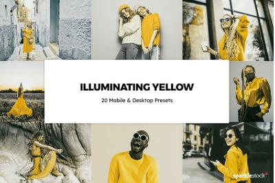 20 Illuminating Yellow Lightroom Presets