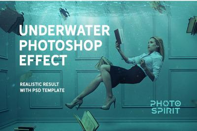 Underwater Photoshop Effect